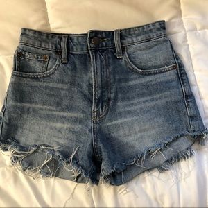 Lucky Brand Luck Pins Denim Shorts